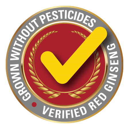 Verified Red Ginseng Grown Without Pesticides