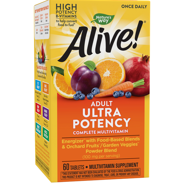 Alive!® Once Daily Ultra (60 Tabs)