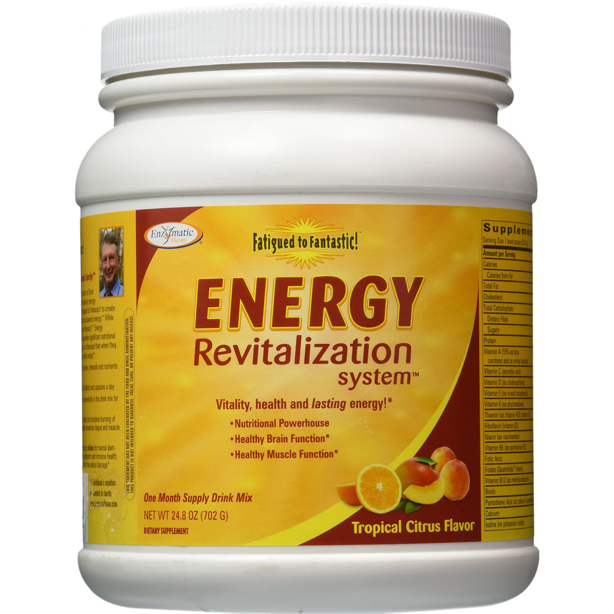 Energy Revitalization System, Citrus Flavored